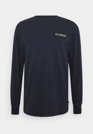 CASUAL LONG SLEEVE TEE - Pitkähihainen paita - mood indigo
