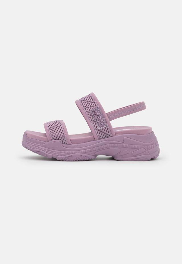 SAMURAI - Korkeakorkoiset sandaalit - purple