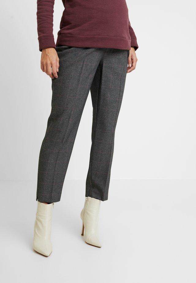 UNDERBUMP ORLA CHECK ANKLE GRAZER - Pantalones - grey marl