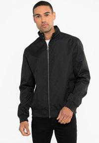Threadbare - HAYMARKET HARRINGTON - Light jacket - schwarz - 0
