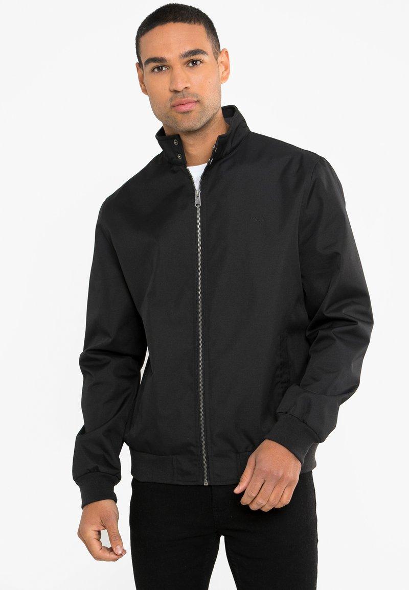 Threadbare - HAYMARKET HARRINGTON - Light jacket - schwarz