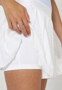 Nike Performance - VICTORY SKIRT - Sports skirt - white/black - 3