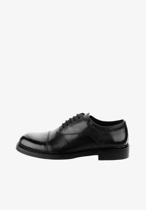 ANCONA  - Zapatos con cordones - black