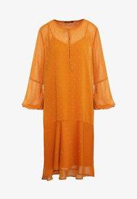 Bruuns Bazaar - MARIAH MADELINE DRESS - Vardagsklänning - sundan brown - 3