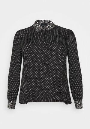 BAZAR - Overhemdblouse - black