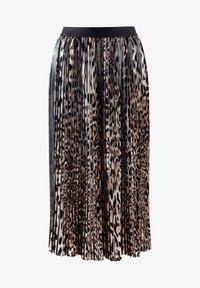 Alba Moda - A-line skirt - braun schwarz - 1