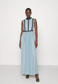 Swing - ABENDKLEID  - Společenské šaty - blue dust - 0