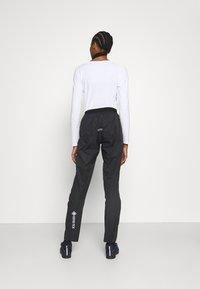Gore Wear - C5 DAMEN GORE-TEX ACTIVE TRAIL HOSE - Outdoor trousers - black - 3