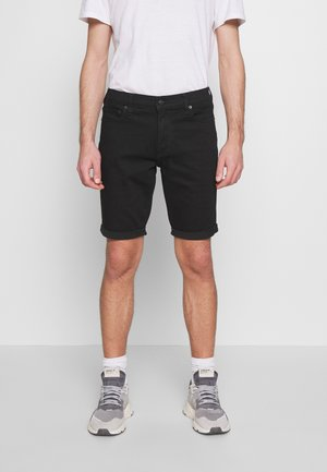 STAY - Jeansshorts - stay black clean