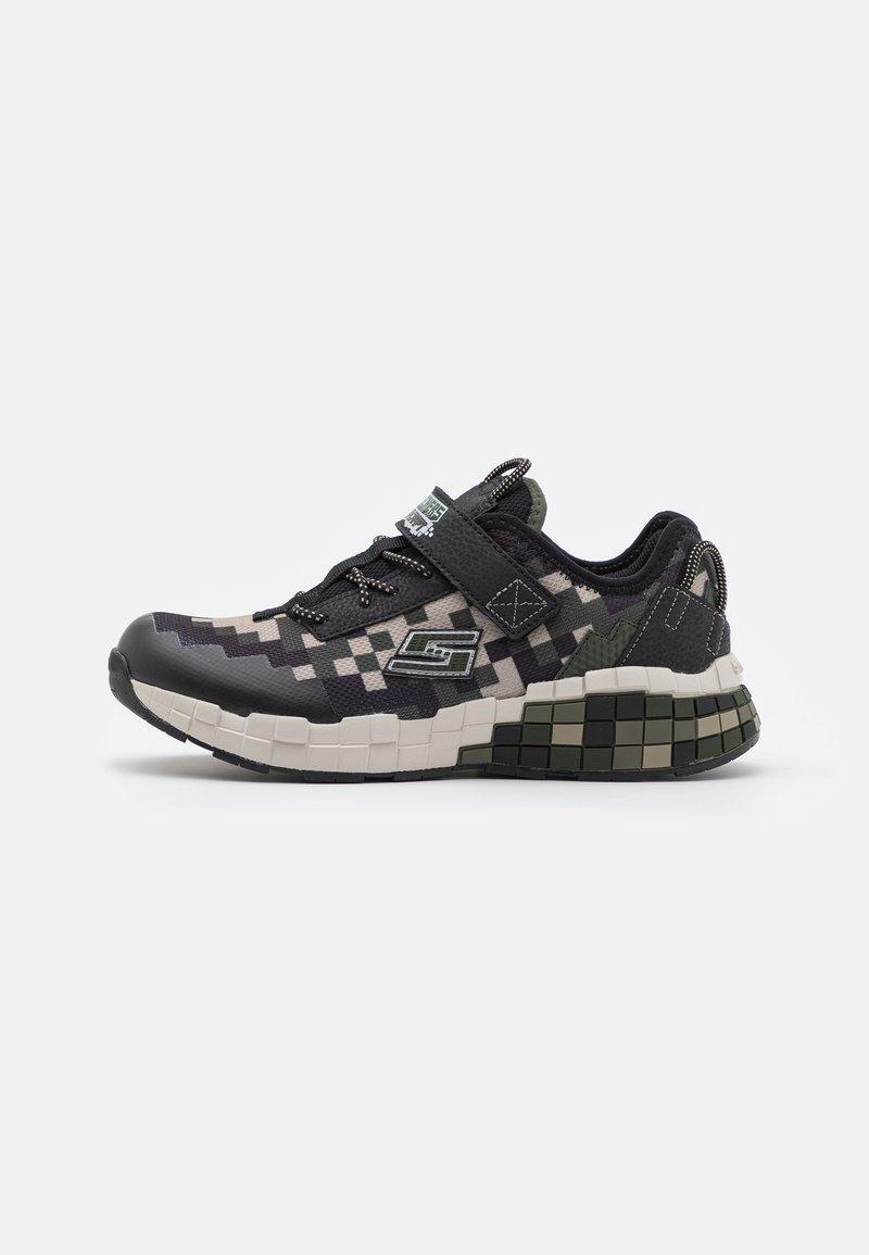 Skechers - MEGA-CRAFT - Trainers - black/olive/taupe