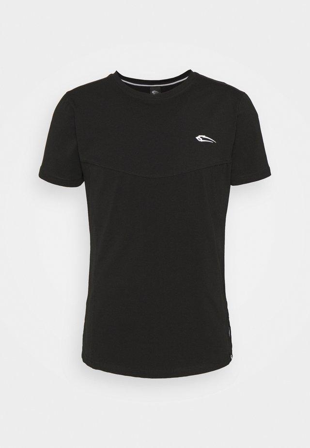 HERREN  - Basic T-shirt - schwarz