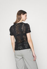 Morgan - DUPLEX - Print T-shirt - noir - 2