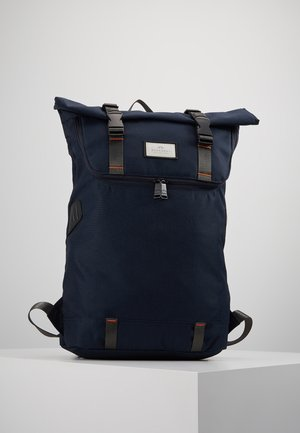 CHRISTOPHER - Rucksack - navy/orange