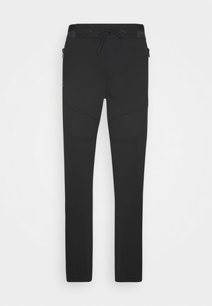 MOTO DETAILS GALFOS - Trousers - black