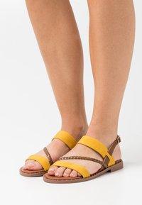 Tata Italia - Sandals - yellow - 0