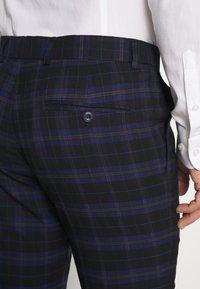Ben Sherman Tailoring - CHECK SUIT - Completo - dark blue - 10