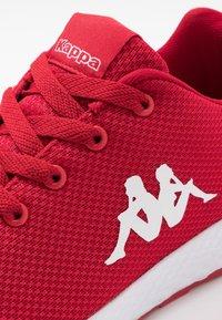Kappa - BANJO 1.2 - Sports shoes - red/white - 5