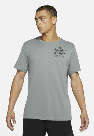 T-Shirt print - smoke grey