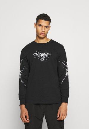 SMASH TOP - T-shirt à manches longues - black