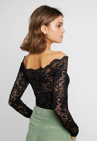 Nly by Nelly - OFF SHOULDER BODY - Blouse - black