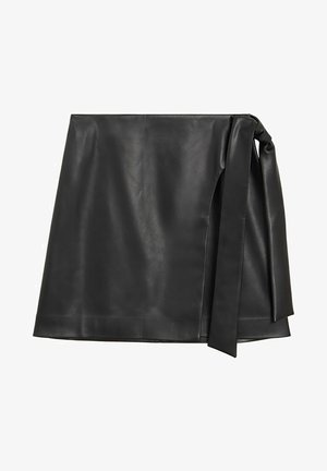 FIRE - A-line skirt - noir