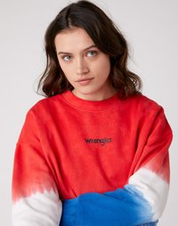 Wrangler Plus - HIGH RIB BOXY RETRO - Sweater - wrangler blue