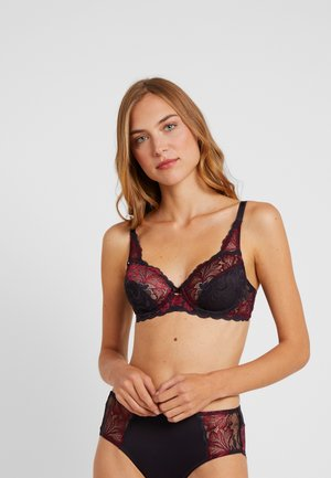 AMOURETTE CHARM XMAS - Soutien-gorge à armatures - red dark combination