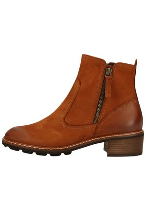 Kotníkové boty - cognac-braun 017