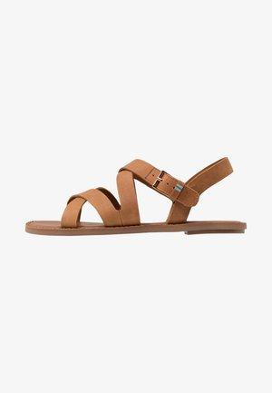 SICILY - Sandals - natural