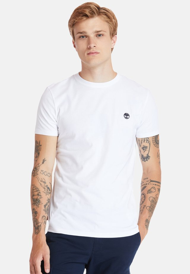 SS DUNSTAN RIVER - T-shirt con stampa - white