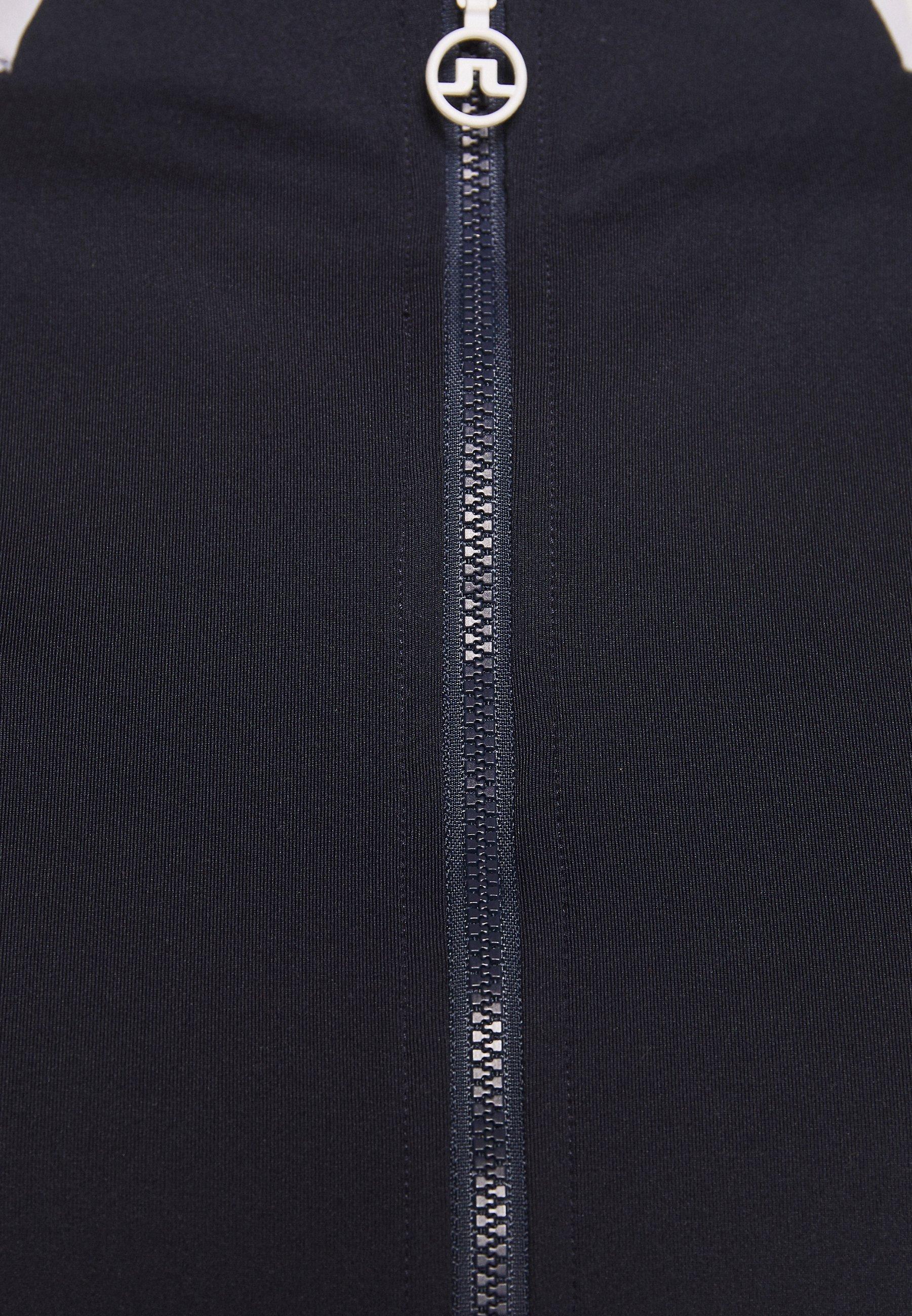 J.LINDEBERG MARIE FULL ZIP MID LAYER - Training jacket - navy MqJx4