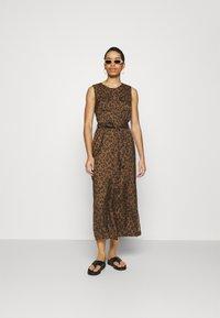 Banana Republic - UTILITY MAXI SHIRTDRESS - Day dress - black - 1