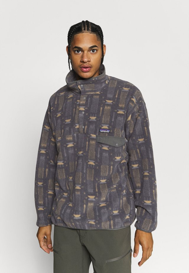 SYNCH SNAP - Sweat polaire - tallgrass/forge grey