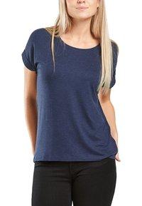 ONLY - ONLMOSTER - T-shirts - drak blue - 1