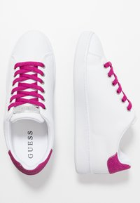 Guess - RANVO - Trainers - white/pink - 3