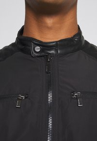 Only & Sons - ONSMATT MIX JACKET - Lehká bunda - black - 6