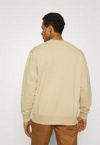 Topman - CREW 2 PACK - Sweatshirt - olive - 2