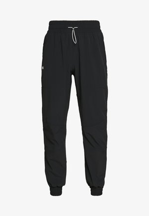 RECOVER PANTS - Tracksuit bottoms - black/onyx white
