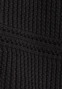 Esprit - CURVY HÄKEL-CARDIGAN, 100% ORGANIC COTTON - Gilet - black - 9