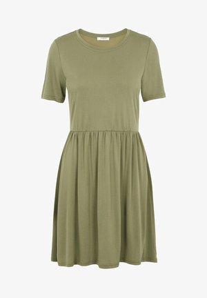 PCKAMALA - Jersey dress - deep lichen green