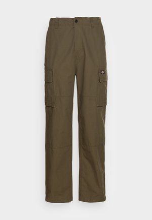 EAGLE BEND - Cargo trousers - military green