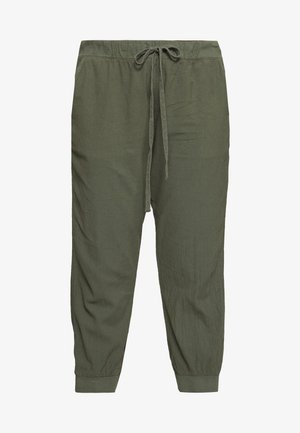 CAPRI PANTS - Trousers - grape leaf