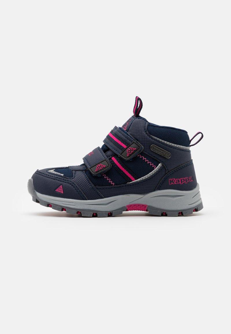 Kappa - HOVET TEX UNISEX - Hiking shoes - navy/pink