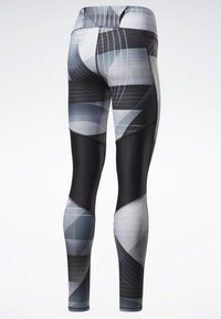 Reebok - RUNNING LUX BOLD LEGGINGS - Leggings - black - 8