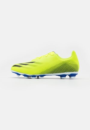 X GHOSTED.4 FXG - Moulded stud football boots - solar yellow/core black/royal blue