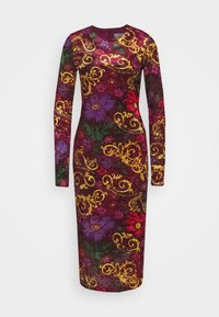 Versace Jeans Couture - Shift dress - rosso scuro - 0