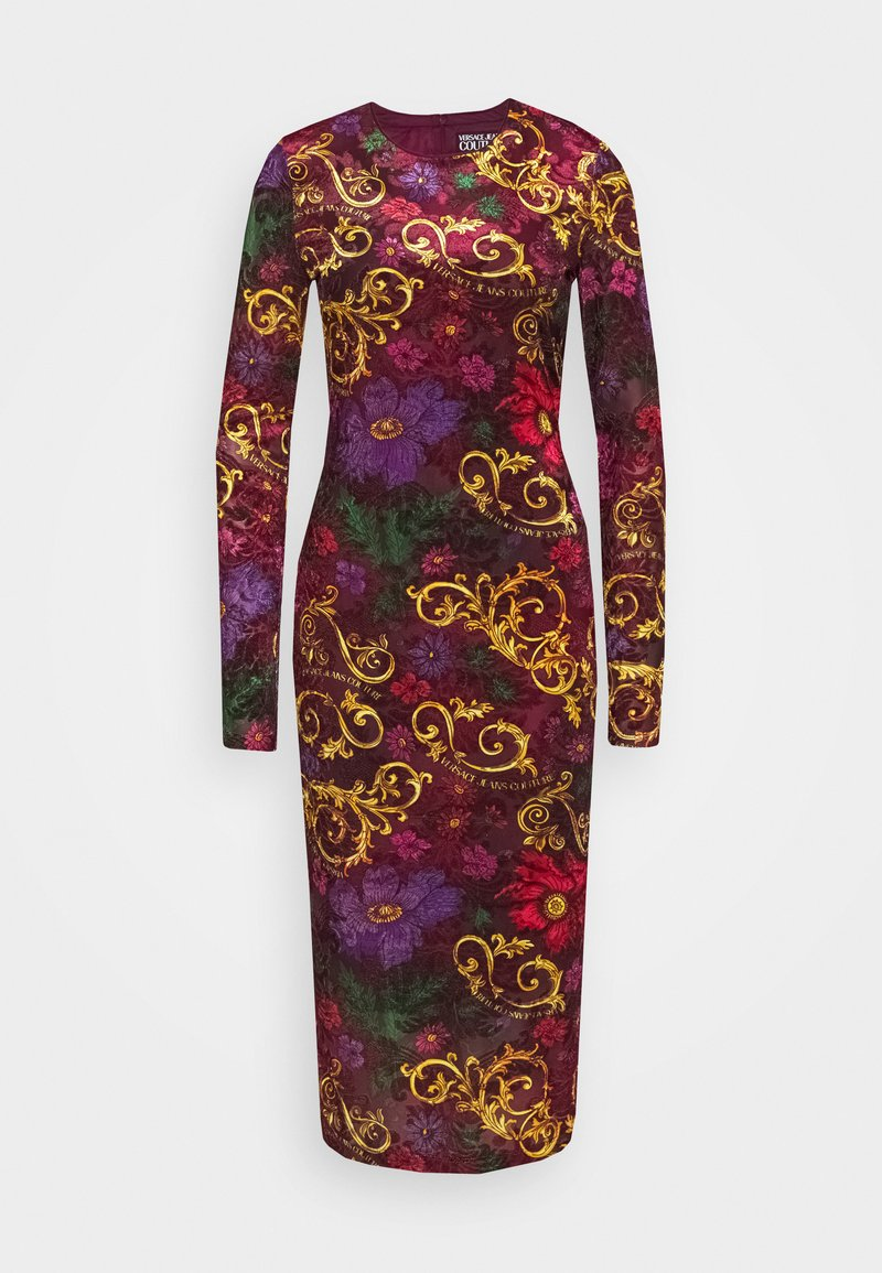 Versace Jeans Couture - Shift dress - rosso scuro