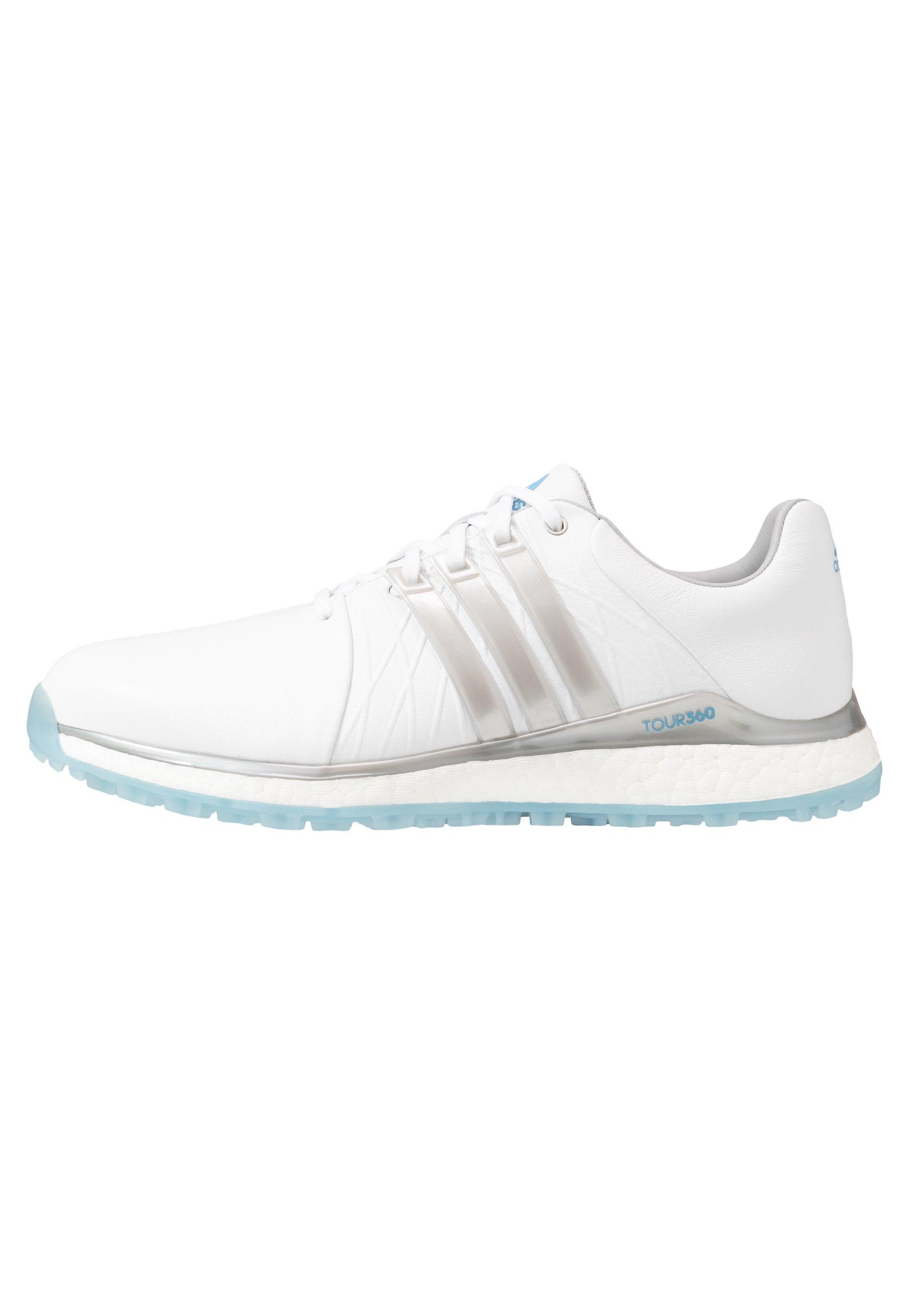 Adidas Golf Tour360 Xt-sl - Golfkengät Footwear White/silver Metallic/team Light Blue