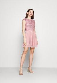 Lace & Beads - TESS SKATER - Juhlamekko - pink - 1
