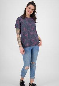 alife & kickin - Print T-shirt - marine - 1